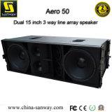 Aero50 3wayの拡声器屋外パフォーマンスラインアレイサウンド・システム