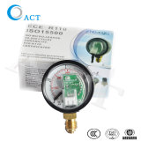 NGVのガスのシステムまたは圧力計の空気圧ゲージの高圧ゲージのためのCNG LPGの圧力計
