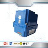 情報処理機能をもった耐圧防爆電気アクチュエーター