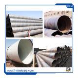"""Soldado de Carbono 24"""" de la tubería de acero ASTM A36B SS400 Espiral Tubos de Acero Soldada Tubería de acero espiral ms"""
