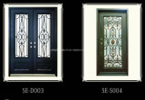 Hochwertige französische kundenspezifische bearbeitetes Eisen-Tür