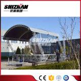 заводская цена алюминия портативный открытый стадии опорных крыши