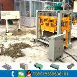 Qt Manual40-2 pequena máquina de Bloco Habiterra intertravamento/Espalhadoras máquina de tijolos China
