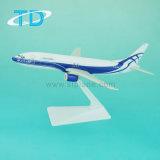 Décoration Atran avion modèle B737-400 18cm Modèle en plastique