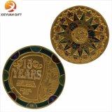 Fabrik geben direkt Metallmessingherausforderungs-Münzen an