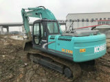 Utilisé Kobelco SK210 excavatrice Kobelco excavatrice chenillée 21tonne