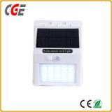 LEDの壁ランプLEDの屋外の太陽エネルギーの緊急の機密保護の庭の動きセンサーの壁ライトIP66 LED壁ライトLED壁の照明