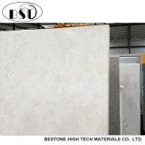 磨く材料の多彩な点の張りめぐらす大理石の水晶平板