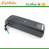 36V 12.8ah onderaan Batterij van het Lithium van de Fiets van de Cel van LG van Hailong van de Stijl van de Buis de Elektrische