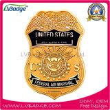 La policía de encargo de la aleación del cinc de la alta calidad Badge