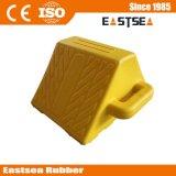 Abitudine del cuneo della ruota motrice, prodotto giallo di sicurezza stradale