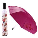 خارجيّ [وين بوتّل] [سون] مطي يطوي [أوف] مظلة نمو بنت فتى خمر شكل [سون-رين] مظلة مطي [بورتبل] مظلة