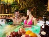 Baquet chaud Jcs-12 de balboa de jacuzzi de massage de STATION THERMALE acrylique extérieure de baignoire