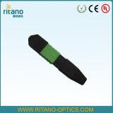 Mini adaptateurs de noir de fibre optique de MPO