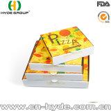 """7 """" de Volledige Afgedrukte Witte Verpakkende Doos van Pizza 9 """" 10 """" 12 """""""