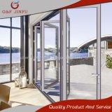Puerta de plegamiento de aluminio exterior del patio del aluminio