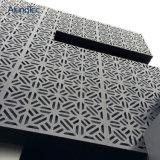 Fachada de aluminio del revestimiento de la pared de la pantalla del corte decorativo del laser
