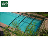 Couverture en aluminium escamotable de piscine