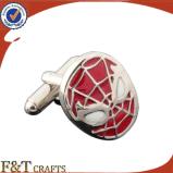 昇進のギフトの金属のカフスボタンの熱い販売の習慣のカフスボタン