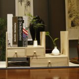 가정 가구 장식용 보석 조직자 사무실 소나무 서랍 책상