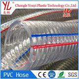 Alta calidad de la espiral de PVC de gran diámetro de manguera de cable de acero