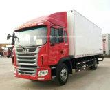 Vagão de refrigerador de JAC 4X2 Hotsale 8 do congelador toneladas de caminhão do camião