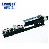 Impresora plástica de la etiqueta de oído de la impresora de inyección de tinta de la fecha de vencimiento de Leadjet V280 Digitaces