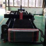 macchina del laser della fibra di CNC del tubo dell'alluminio di 3mm per il taglio di strato del tubo