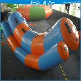 Il gioco gonfiabile dell'acqua mette in mostra il singolo tubo mini Titerborad