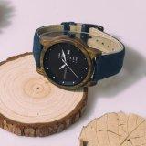 Relógios de quartzo de alta qualidade OEM Finas pulseiras de relógio de madeira para homens e mulheres