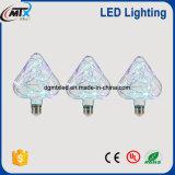 LED en forma de corazón especial Venta caliente tramo largo lámpara lámparas eléctricas