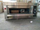 Forno della pizza dei due cassetti per il ristorante, elettrico (ZMC-102D)
