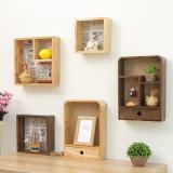 L'amo di legno creativo della cremagliera di memoria accantona la cremagliera di legno della cucina delle cremagliere della stanza da bagno della cremagliera di memoria