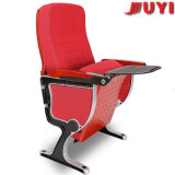 Silla plástica de la conferencia de la pista de los apoyabrazos de acero de la silla del auditorio Jy-989