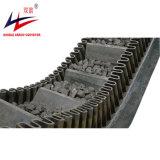 La norma DIN entrelazado de pared corrugado Transportador de correa lateral
