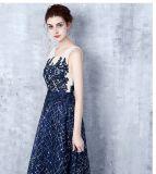 Мать уникально Applique оболочки шифоновая платьев вечера Z7029 невесты