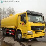 HOWO 6*4の炭素鋼またはアルミ合金の燃料のタンク車
