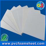 Strato stampabile della gomma piuma del PVC di bianco 3mm per la pubblicità dell'uso