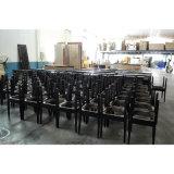 판매 (KL C01)를 위한 의자를 식사하는 나무로 되는 직물 무방비 대중음식점 /Hotel