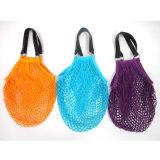 カスタムフルーツの&Vegetable食料雑貨ストリング綿のネットのショッピング・バッグ