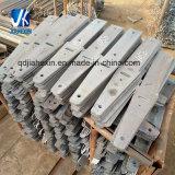 Usinagem personalizada cortar chapa de Seta de aço carbono perfurado