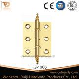 공단 니켈, 작은 디자인 금관 악기 문 경첩 (HG-1036)