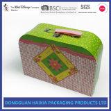 Steife Pappe gedruckter Koffer für Kind-Spielzeug-Spiel-Karten