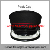 卸し売り安い中国の軍隊の銀の糸の憲兵のピーク帽子