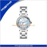 Het eerste Horloge van de Armband van de Vrouwen van de Vatting Polised van de Diamant van Juwelen Vastgestelde