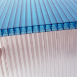 16mm vier Wand-hohles Polycarbonat-Blatt für grünes Haus