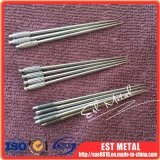 Toothpicks di titanio portatili Ultralight con colore d'argento stabilito della cassa della casella