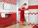 Gules 4x8pol./10x20cm vidrados cerâmicos brilhante Metro Parede Decoração de cozinha/casa de banho em mosaico
