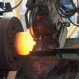 Industrieller Gas-Zylinder-Mund, der Maschine bildet