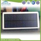 Сплав IP65 света 48LED датчика движения радиолокатора микроволны солнечный алюминиевый делает напольное водостотьким